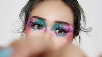 Dreamy Cloudy Makeup Look ala Beauty Content Creator Beatrice Nathania